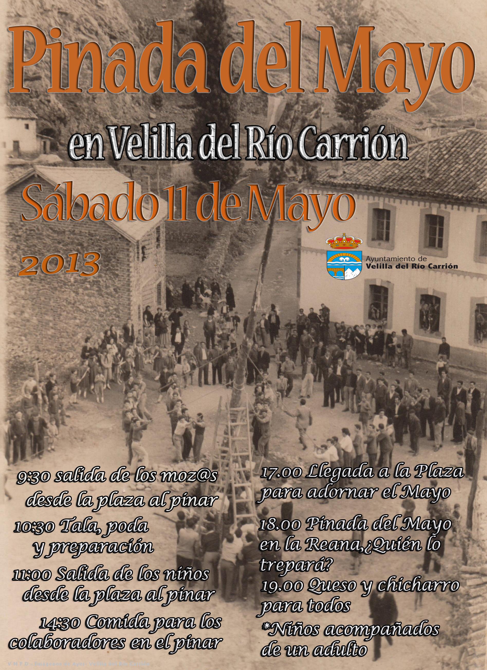 FIESTA DE LA PINADA DEL MAYO 2013