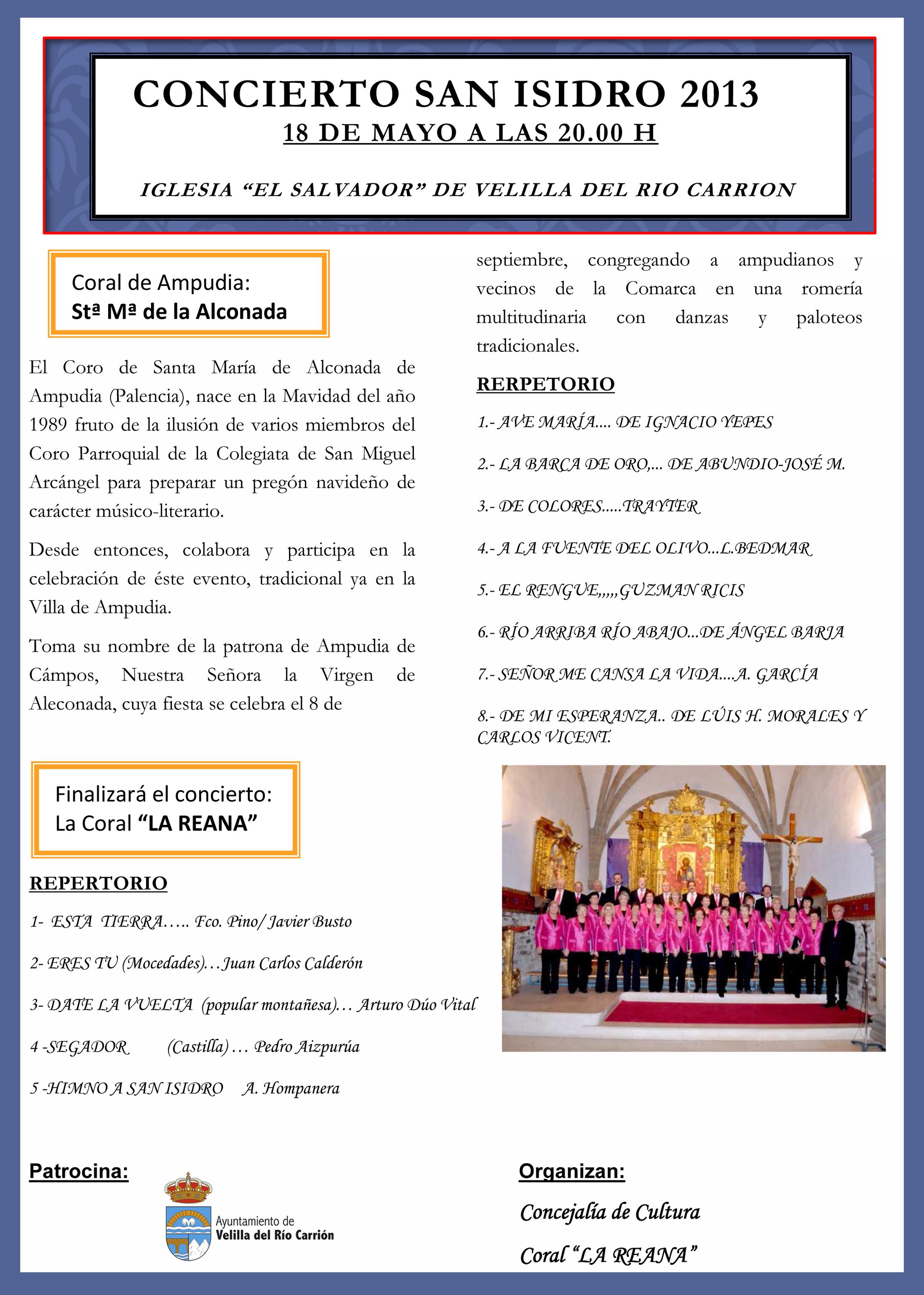 CONCIERTO SAN ISIDRO 2013