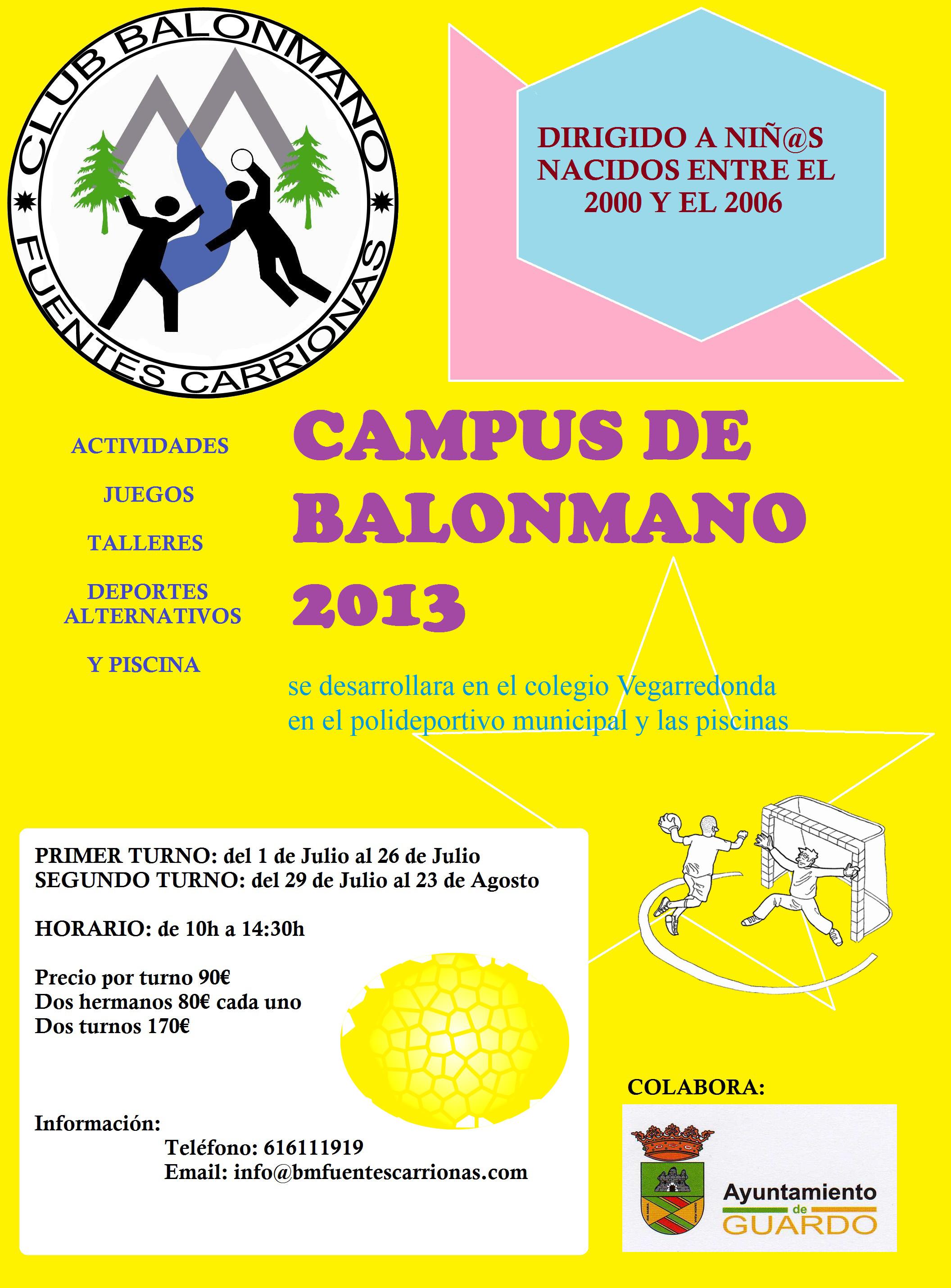 CAMPUS BALONMANO CLUB FUENTES CARRIONAS
