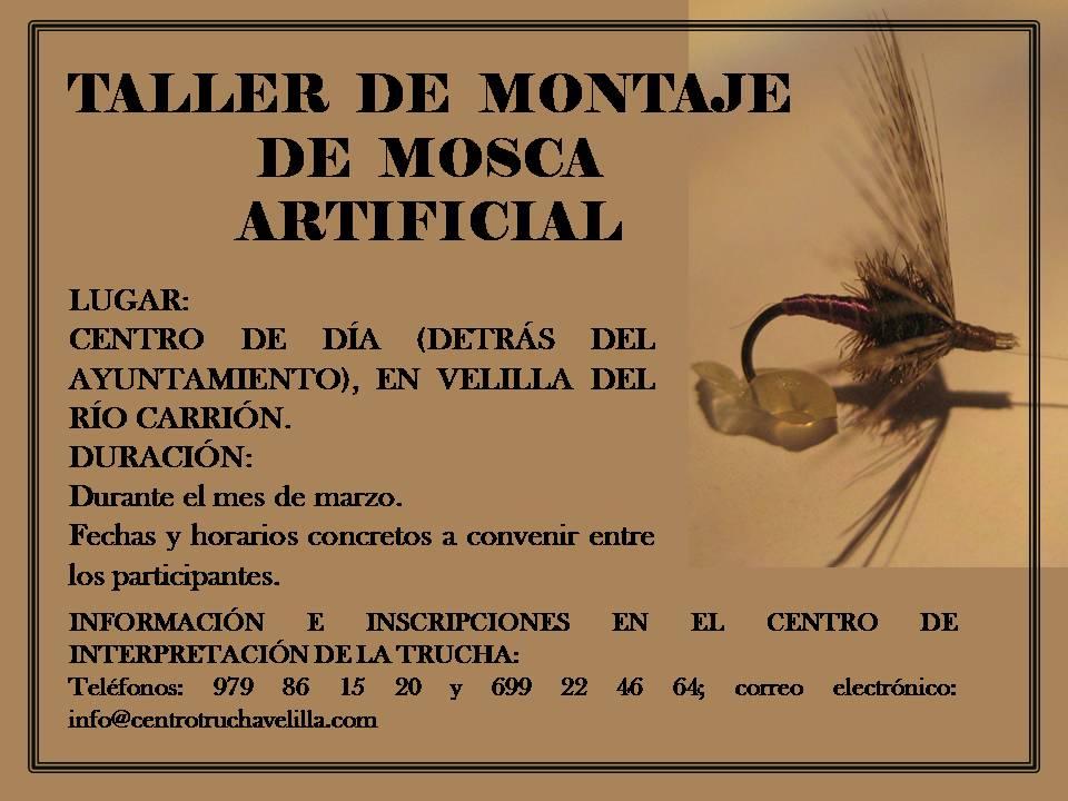 TALLER DE MONTAJE DE MOSCA ARTIFICIAL