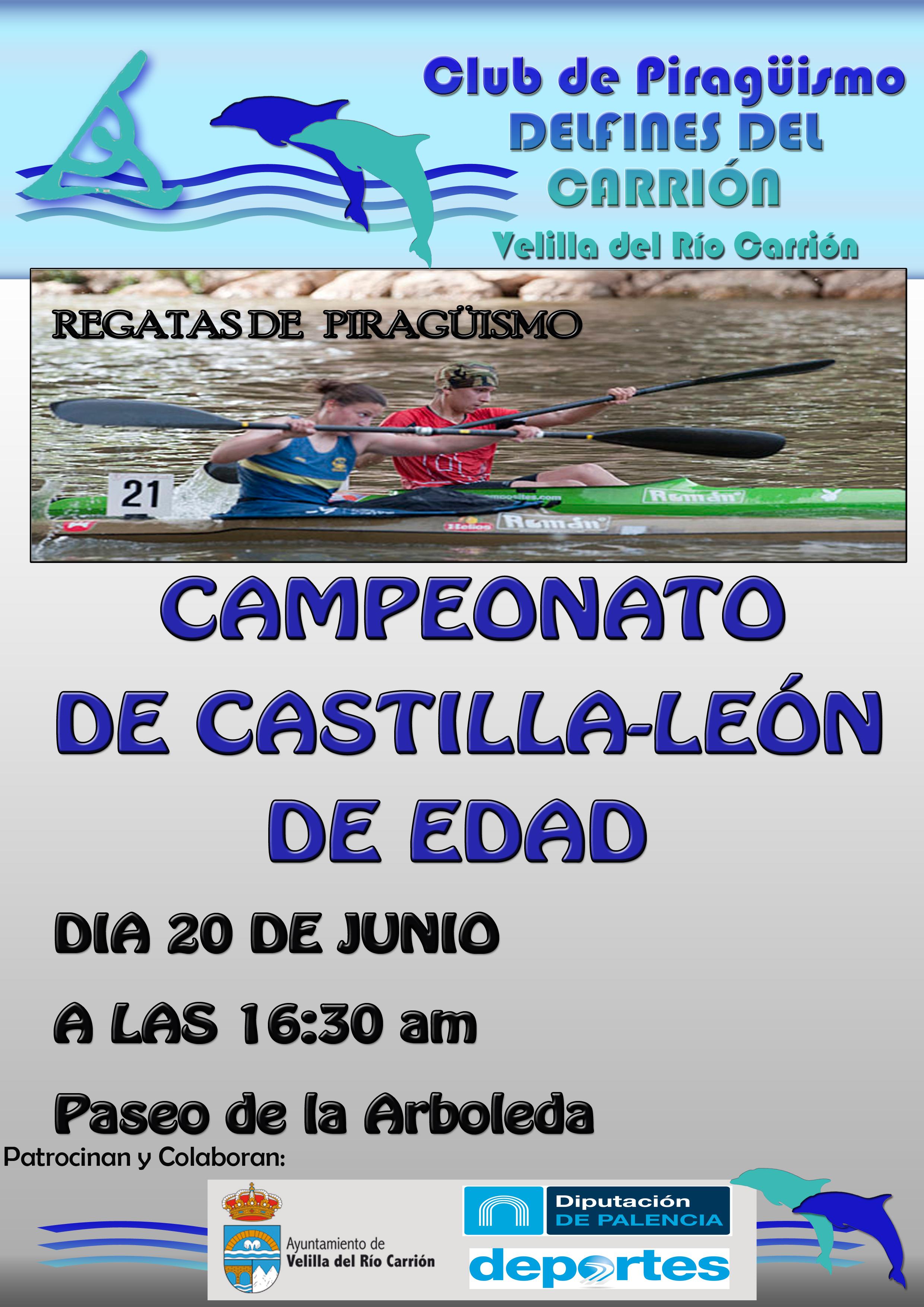 CAMPEONATO PIRAGÜISMO C.Y.L. DE EDAD