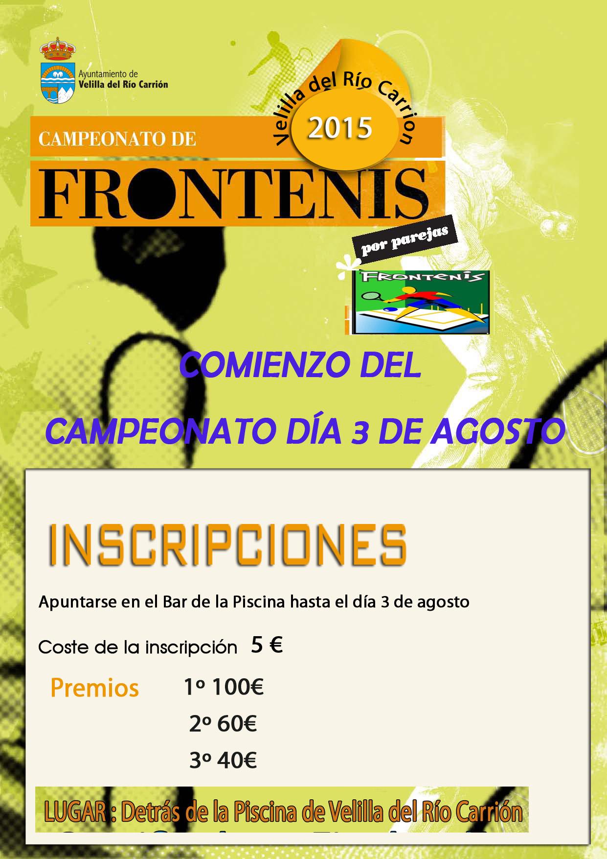 CAMPEONATO DE FRONTENIS