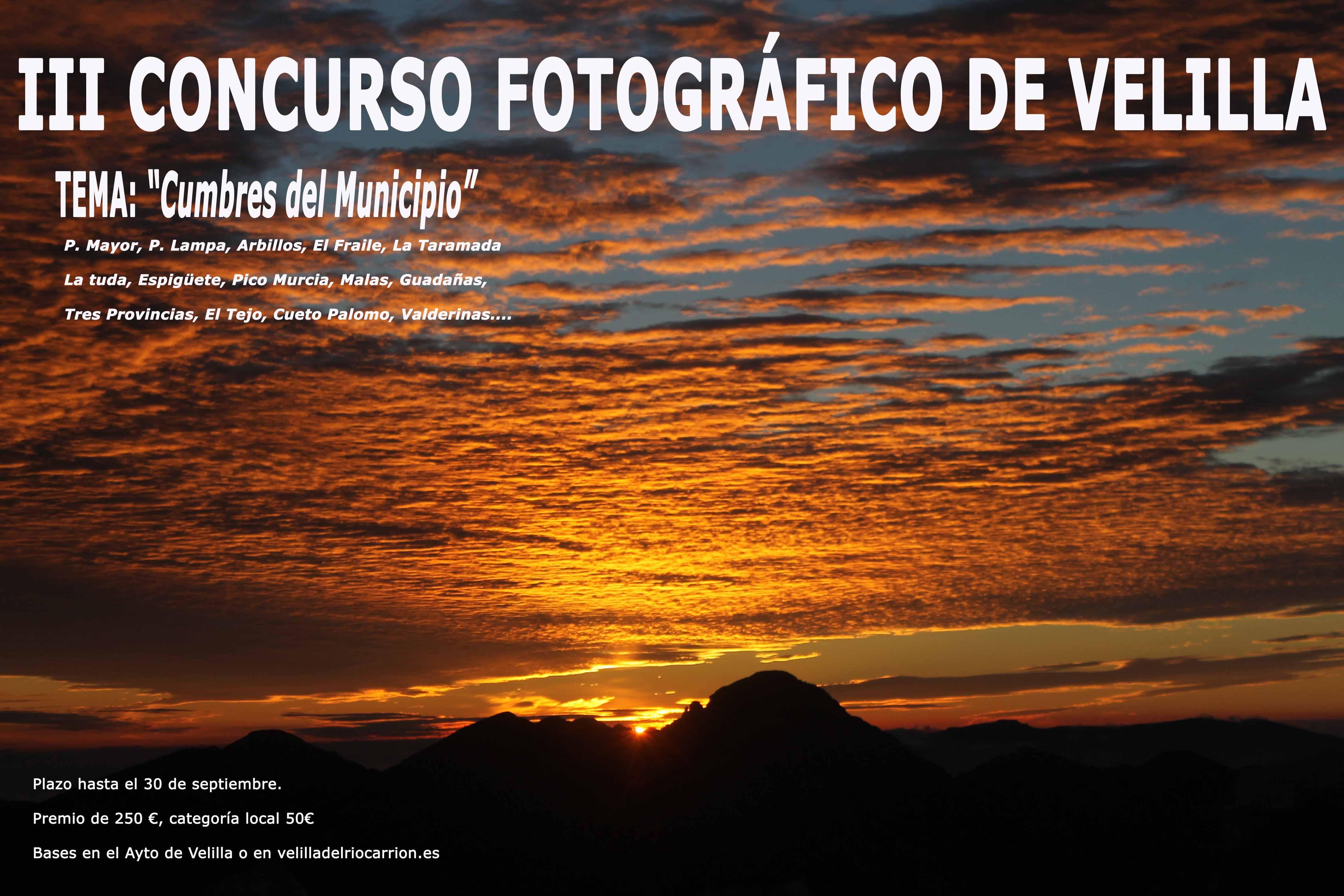 III CONCURSO FOTOGRÁFICO DE VELILLA