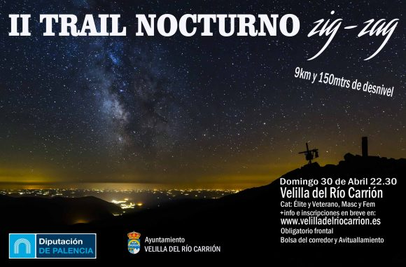 Cartel II trail nocturno